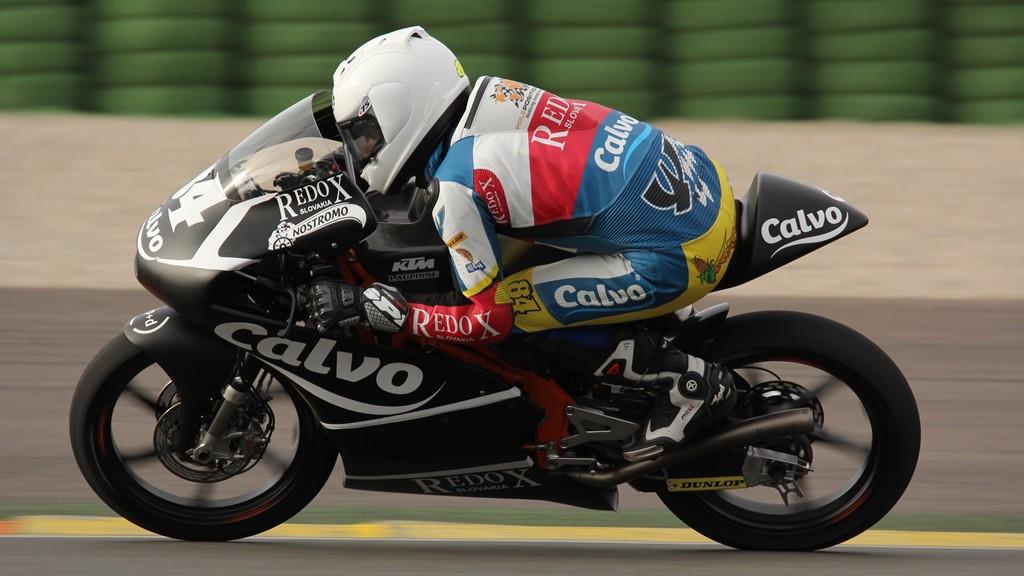 Jakub Kornfeil, Team Calvo, Valencia Test © Max Kroiss