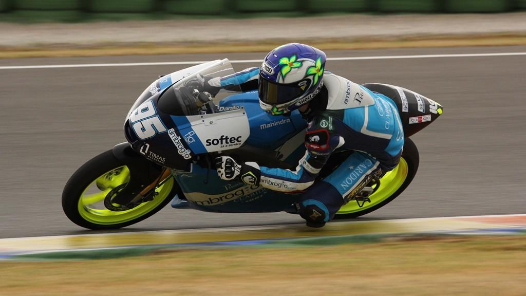 Jules Danilo, Ambrogio Racing, Valencia Test © Max Kroiss