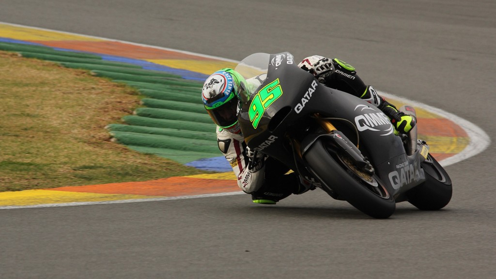 Anthony West, QMMF Racing Team, Valencia Test © Max Kroiss