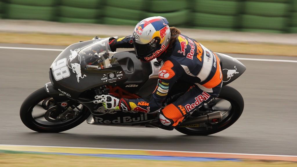 Karel Hanika, Red Bull KTM Ajo, Valencia Test © Max Kroiss