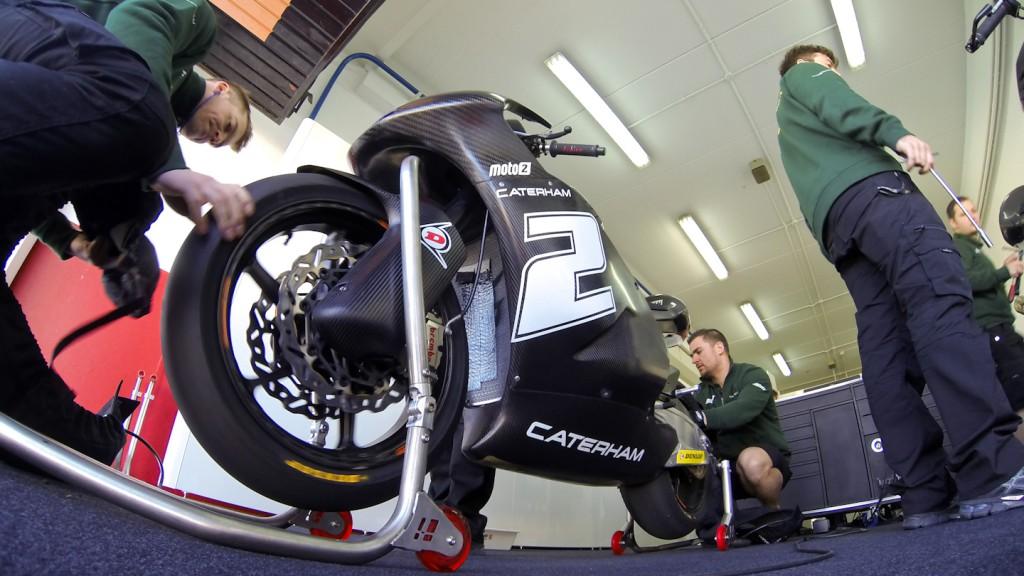 Josh Herrin, Caterham Moto Racing, Valencia Test