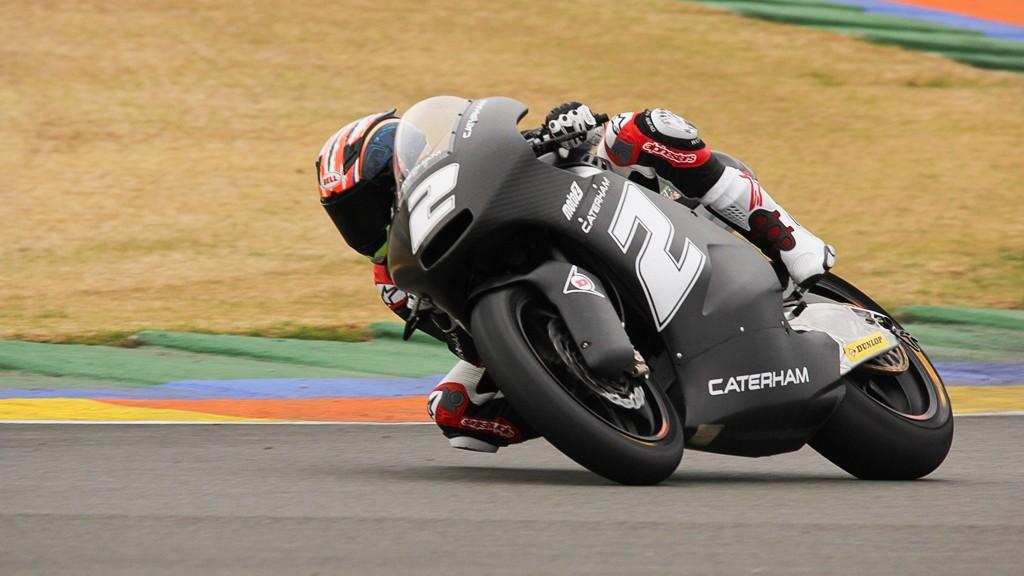 Josh Herrin, Caterham Moto Racing, Valencia Test © Max Kroiss