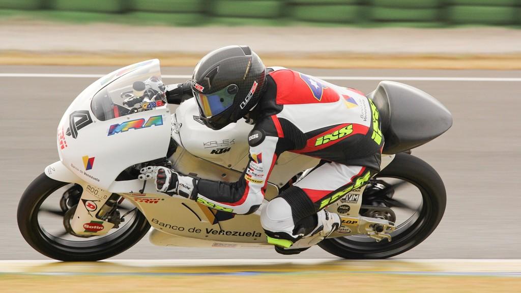 Gabriel Ramos, Kiefer Racing, Valencia Test © Max Kroiss