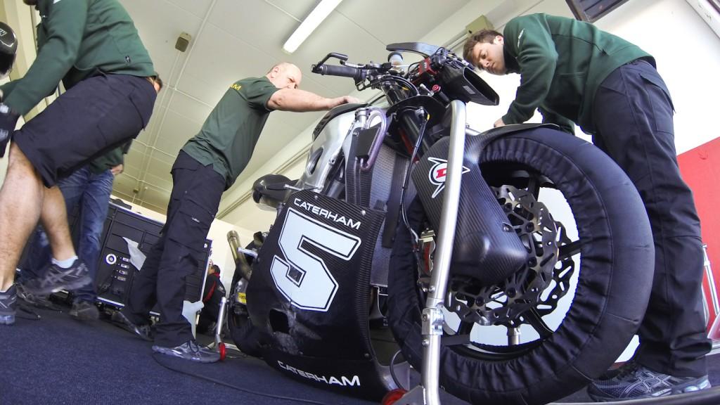 Johann Zarco, Caterham Moto Racing, Valencia Test
