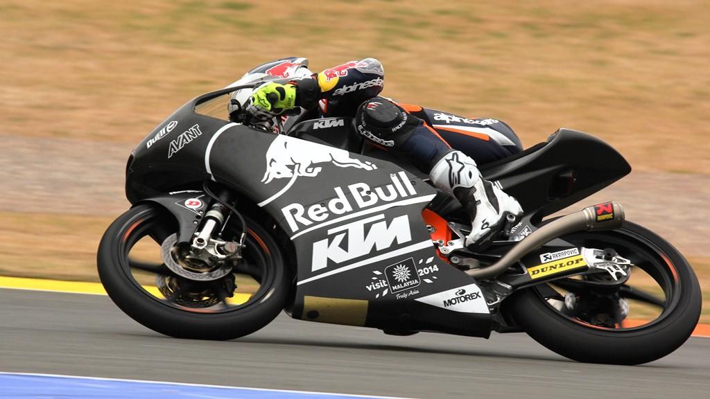 Jack Miller, Red Bull KTM Ajo, Valencia Test © Max Kroiss