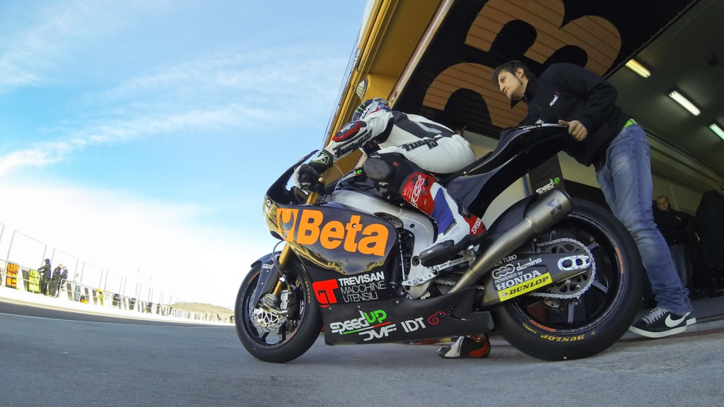 Sam Lowes, Speed Up, Valencia Test