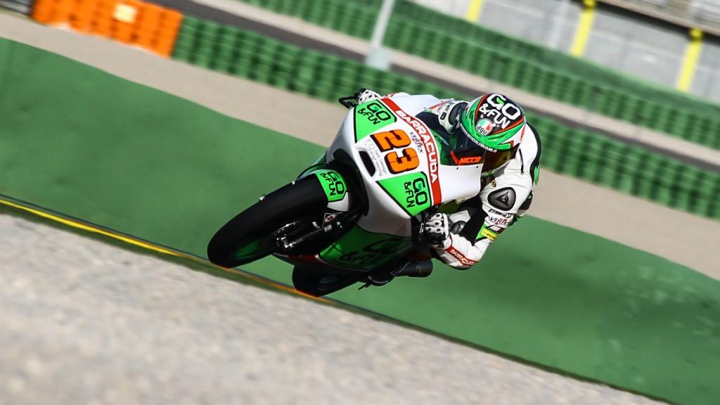 Niccolò Antonelli, Junior Team GO&FUN Moto3, Valencia Test