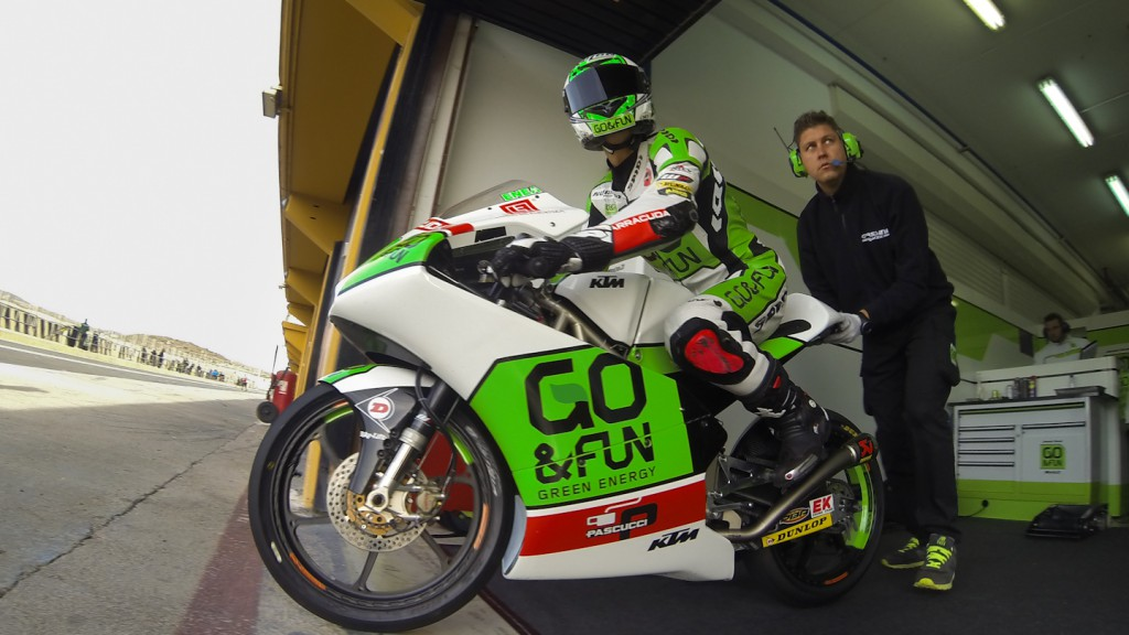 Enea Bastianini, Junior Team GO&FUN Moto3, Valencia Test