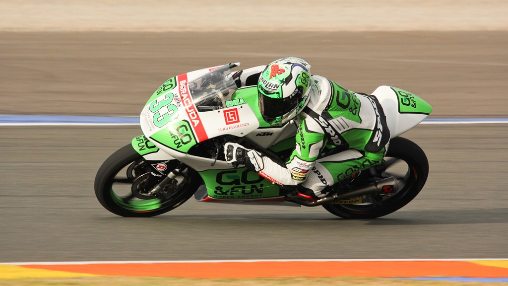Enea Bastianini, Junior Team GO&FUN Moto3, Valencia Test © Max Kroiss