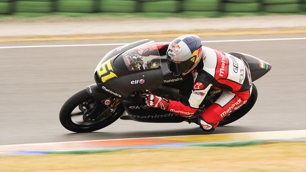 Arthur Sissis, Mahindra Racing, Valencia Test © Max Kroiss