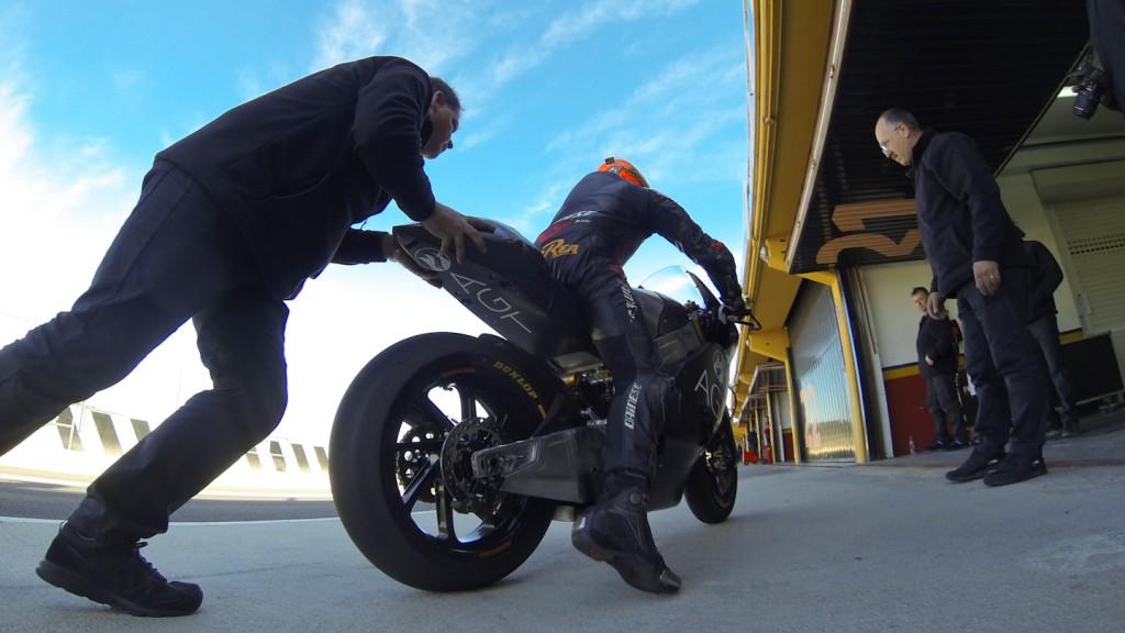 Gino Rea, AGT REA Racing, Valencia Test