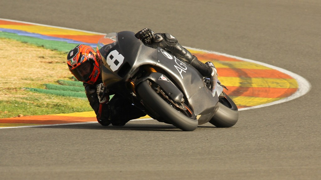 Gino Rea, AGT REA Racing, Valencia Test © Max Kroiss