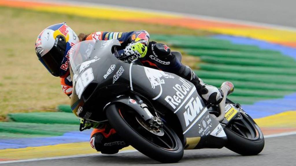Karel Hanika, Red Bull KTM Ajo, Valencia Test