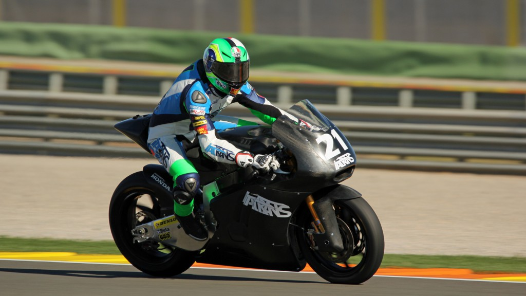 Franco Morbidelli, Italtrans Racing Team, Valencia Test © Max Kroiss