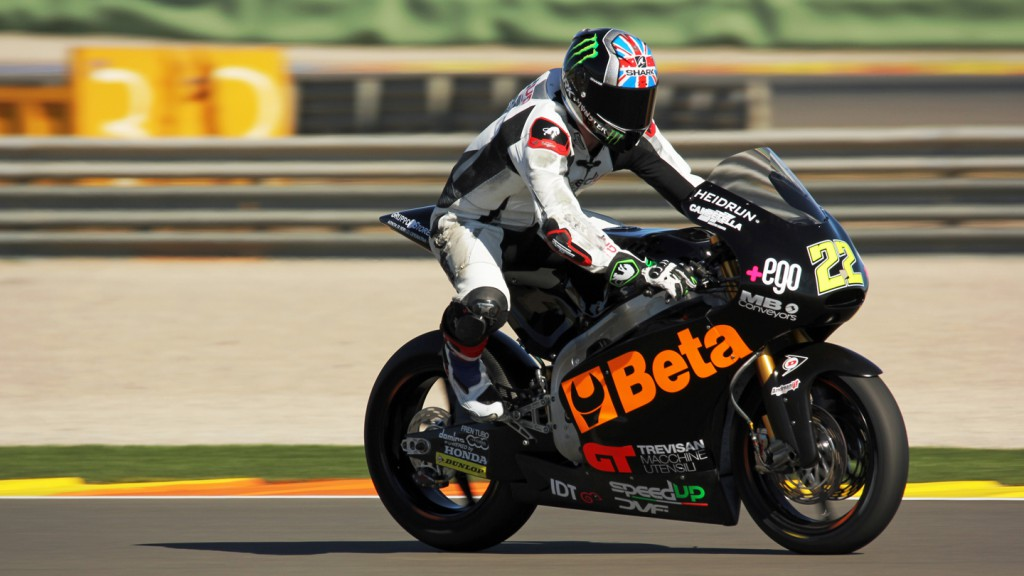 Sam Lowes, Speed Up, Valencia Test © Max Kroiss