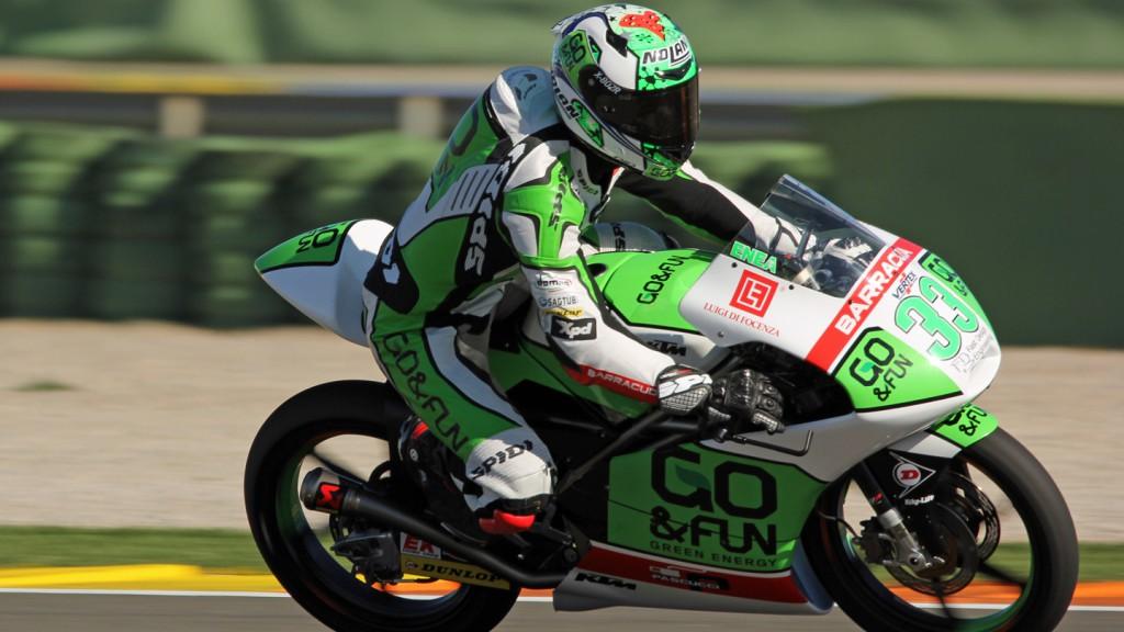 Enea Bastianini, Junior Team GO&FUN Moto3, Valencia Test © Max Kroiss