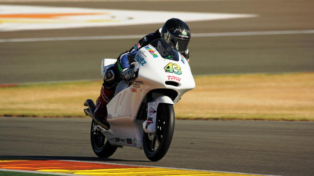Luca Grünwald, Kiefer Racing, Valencia Test © Max Kroiss