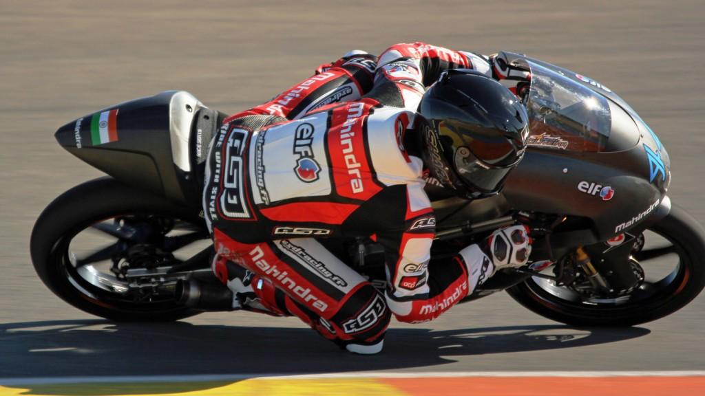Miguel Oliveira, Mahindra Racing, Valencia Test © Max Kroiss
