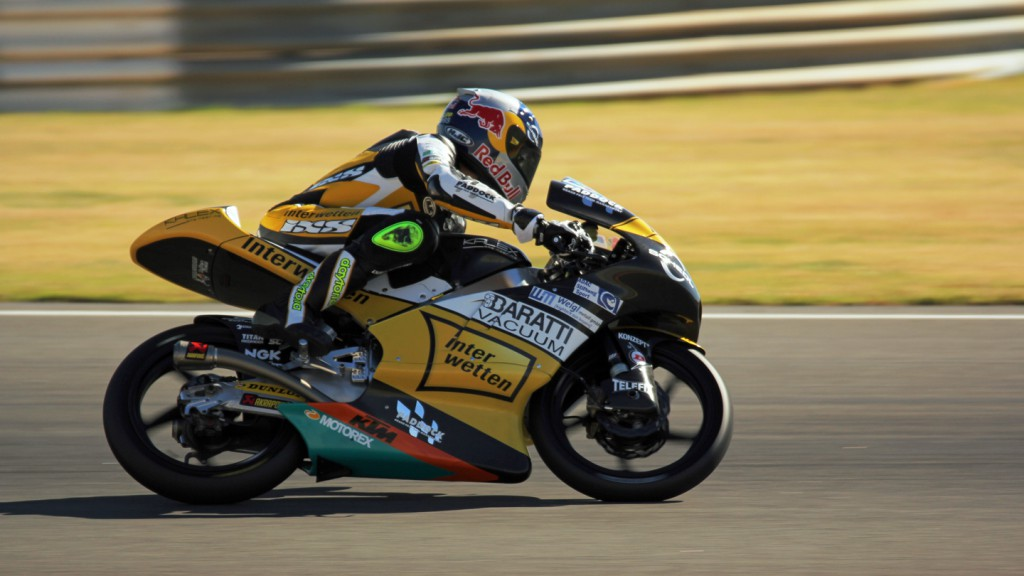 Interwetten Paddock Moto3, Valencia Test © Max Kroiss