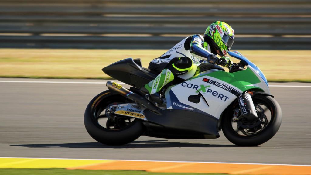Dominique Aegerter, Technomag carXpert, Valencia Test © Max Kroiss