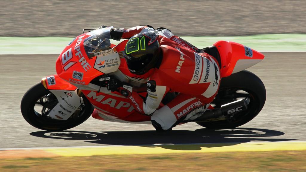 Jordi Torres, Mapfre Aspar Team Moto2, Valencia Test © Max Kroiss