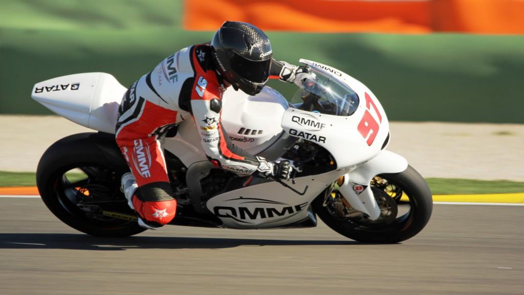 Roman Ramos, QMMF Racing Team, Valencia Test © Max Kroiss