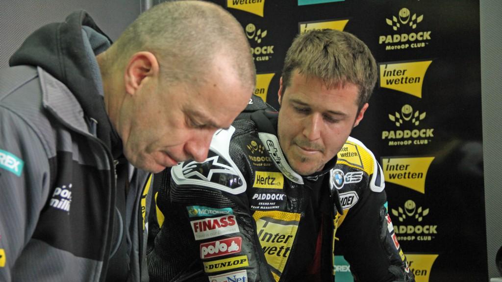 Thomas Luthi, Interwetten Paddock Moto2, Valencia Test © Max Kroiss