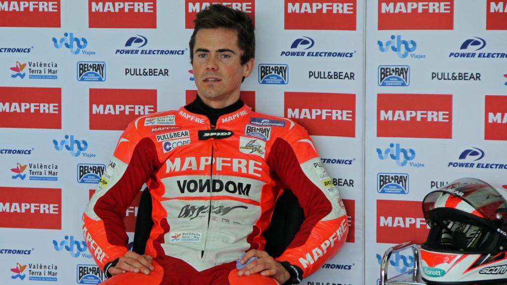 Nico Terol, Mapfre Aspar Team Moto2, Valencia Test © Max Kroiss
