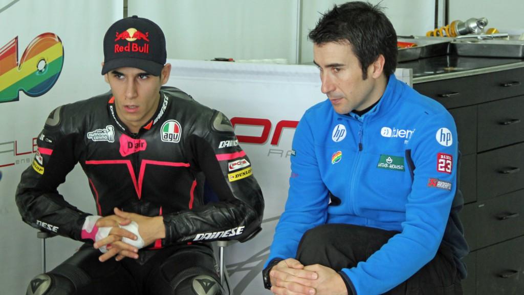 Luis Salom, Tuenti HP 40, Valencia Test © Max Kroiss