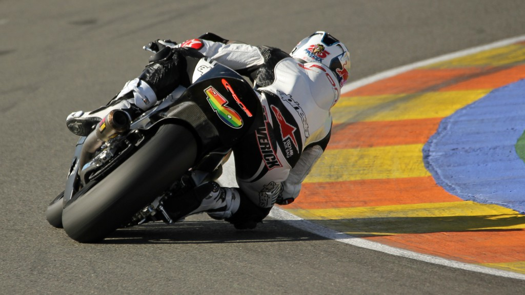 Maverick Viñales, Tuenti HP 40, Valencia Test © Max Kroiss