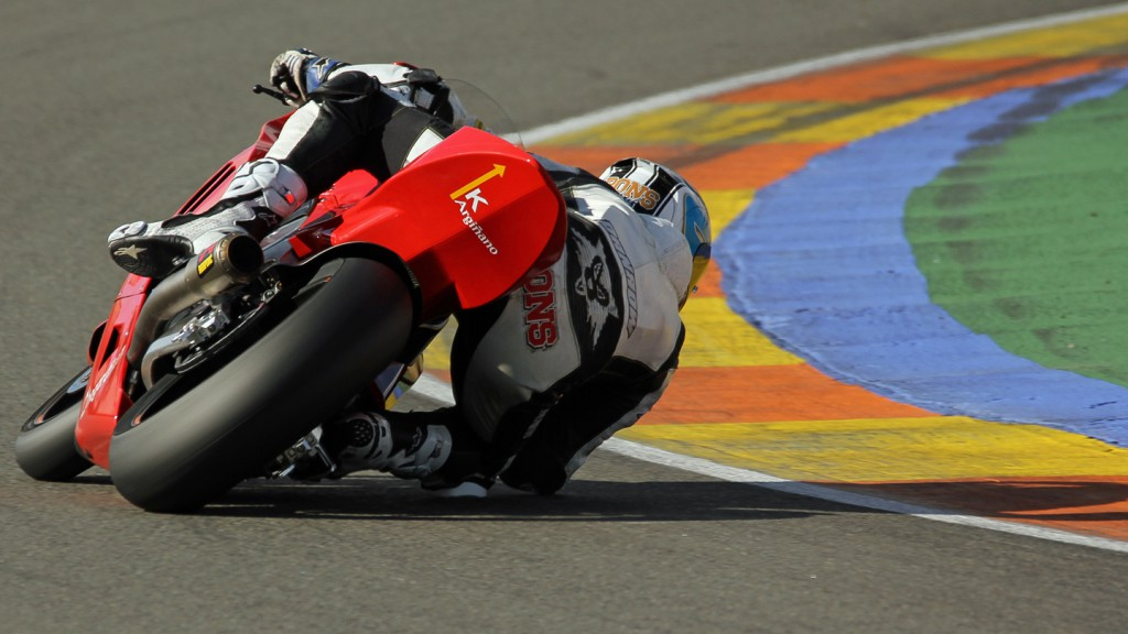 Axel Pons, Argiñano & Gines Racing, Valencia Test © Max Kroiss