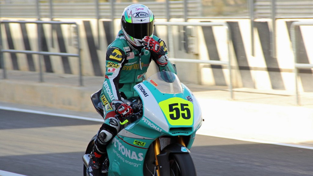 Hafizh Syahrin, Petronas Raceline Malaysia, Valencia Test © Max Kroiss