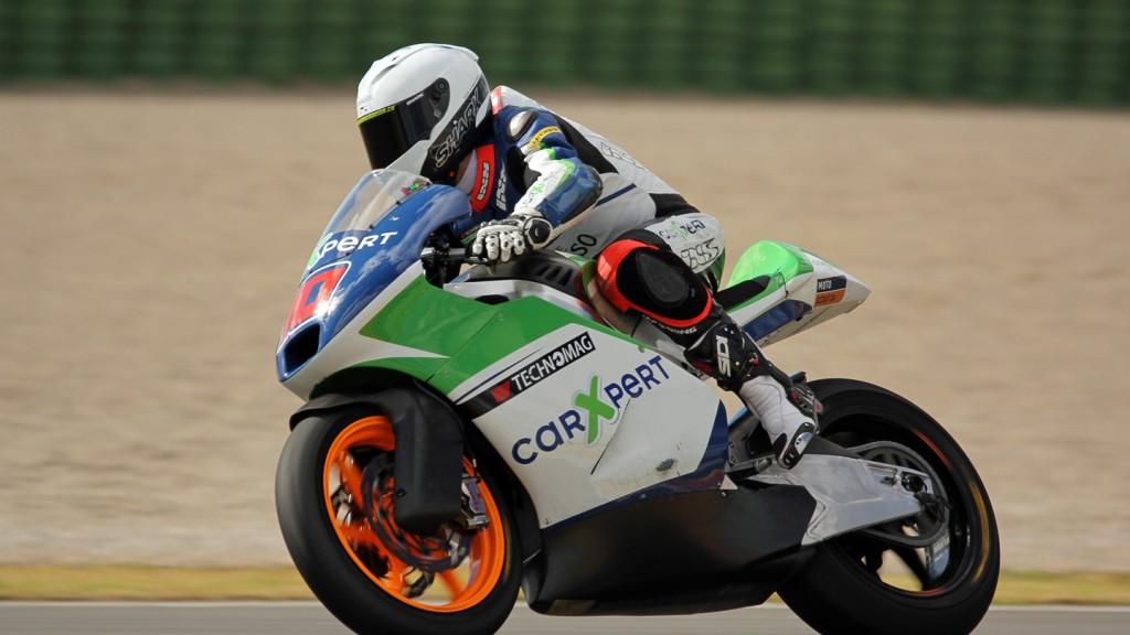 Robin Mulhauser, Technomag carXpert, Valencia Test © Max Kroiss