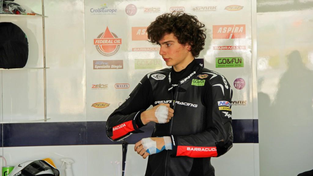 Lorenzo Baldassarri, Gresini Moto2, Valencia Test © Max Kroiss