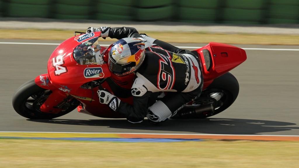 Jonas Folger, Argiñano & Gines Racing, Valencia Test © Max Kroiss