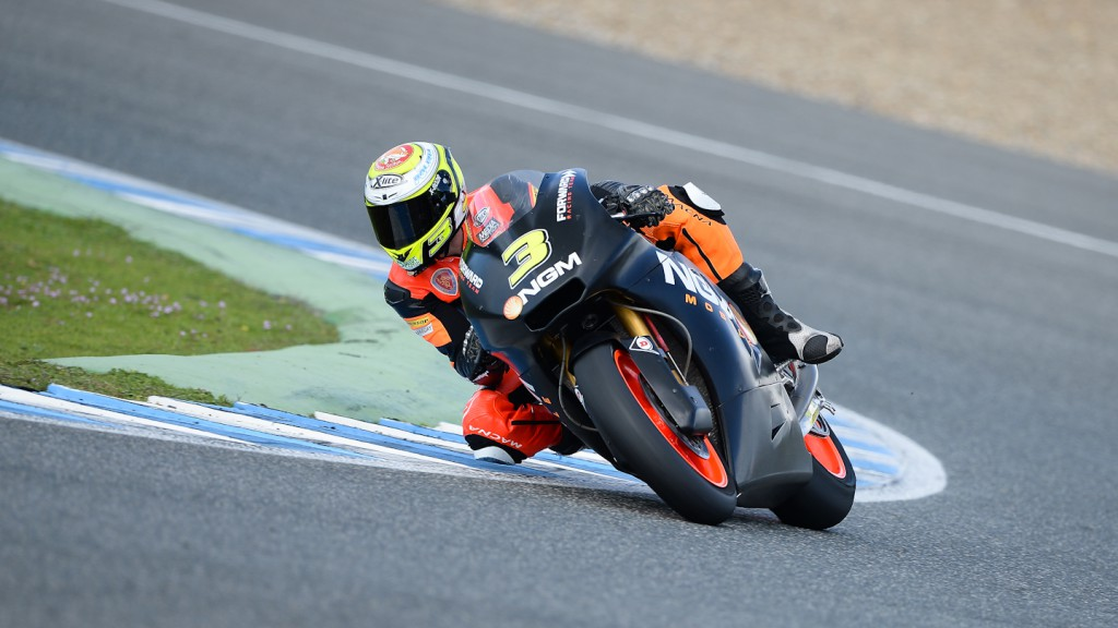 Simone Corsi, NGM Mobile Forward Racing, Jerez Test