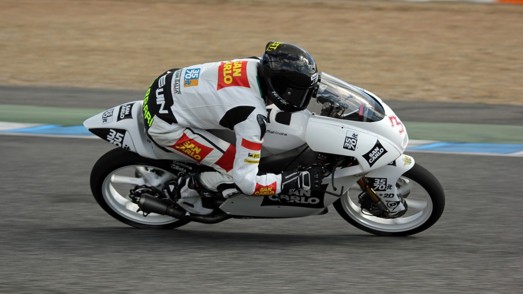 Matteo Ferrari, San Carlo Team Italia, Jerez Test © Max Kroiss