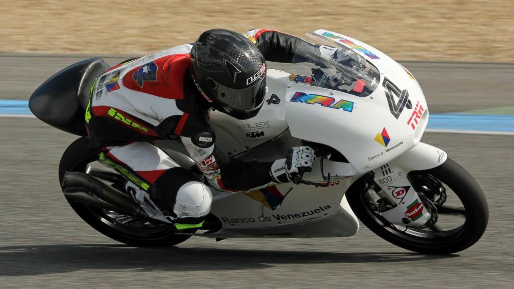 Gabriel Ramos, Kiefer Racing, Jerez Test © Max Kroiss