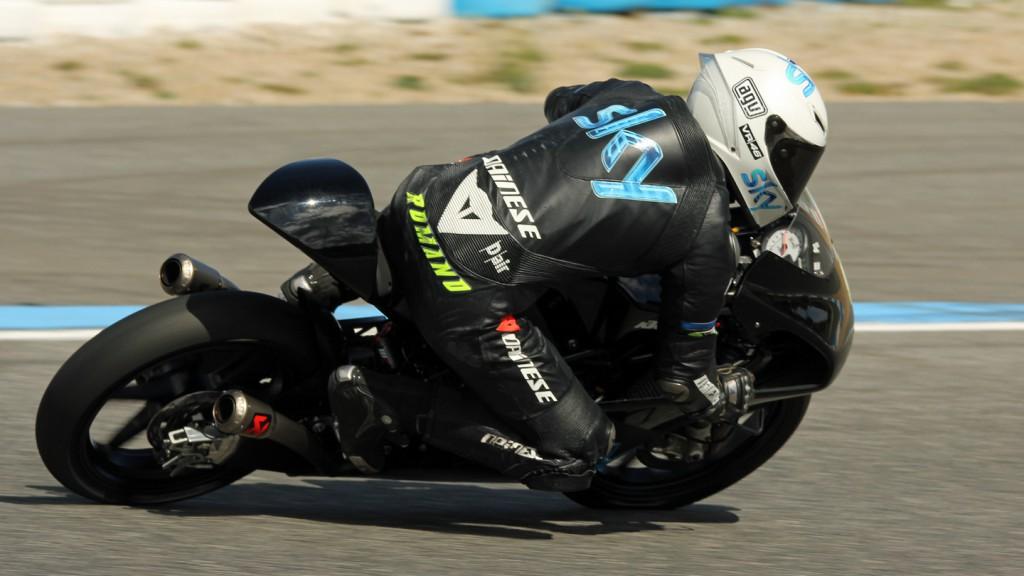 Romano Fenati, Team SKY by VR46, Jerez Test © Max Kroiss