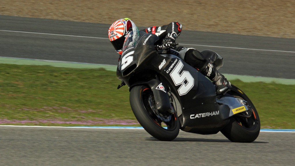 Johann Zarco, Caterham Moto Racing, Jerez Test © Max Kroiss