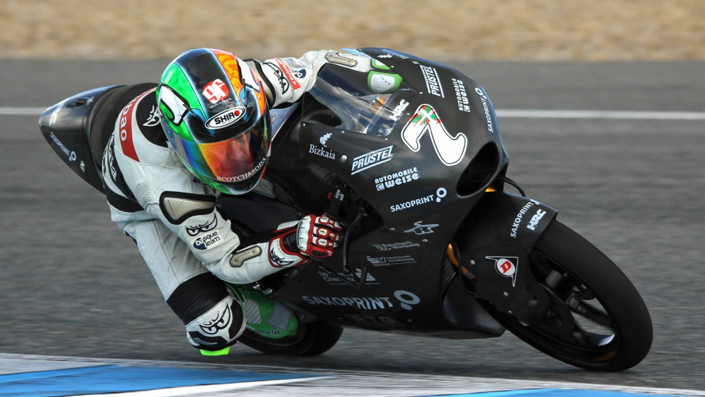 Efren Vazquez, Racing Team Germany, Jerez Test © Max Kroiss