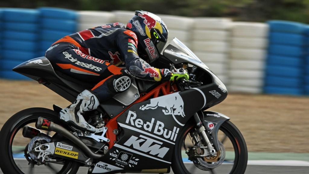Jack Miller, Red Bull KTM Ajo, Jerez Test © Max Kroiss