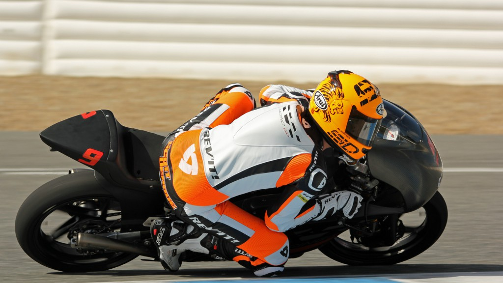 Scott Deorue, RW Racing GP, Jerez Test © Max Kroiss