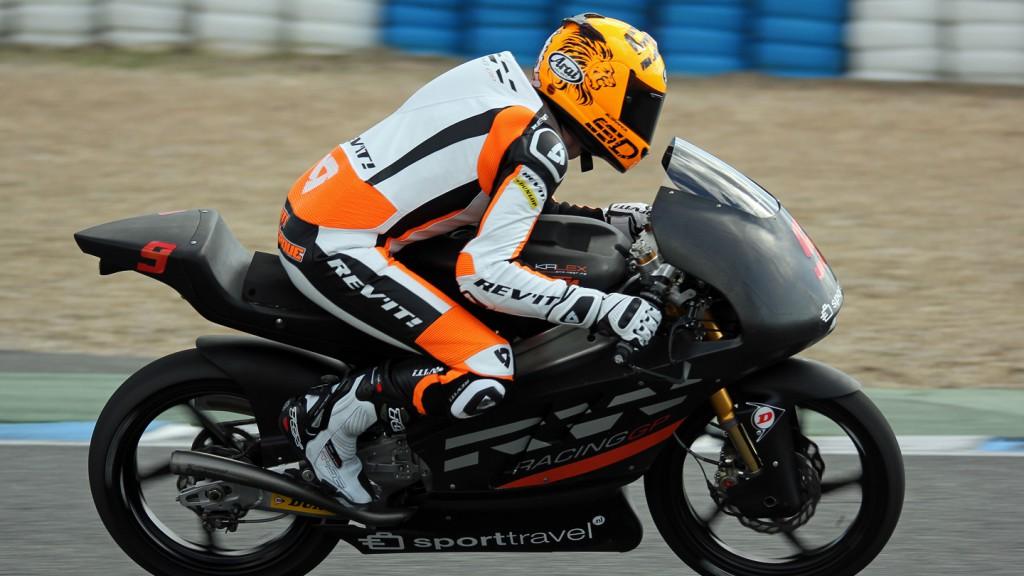Scott Deroue, RW Racing GP, Jerez Test © Max Kroiss