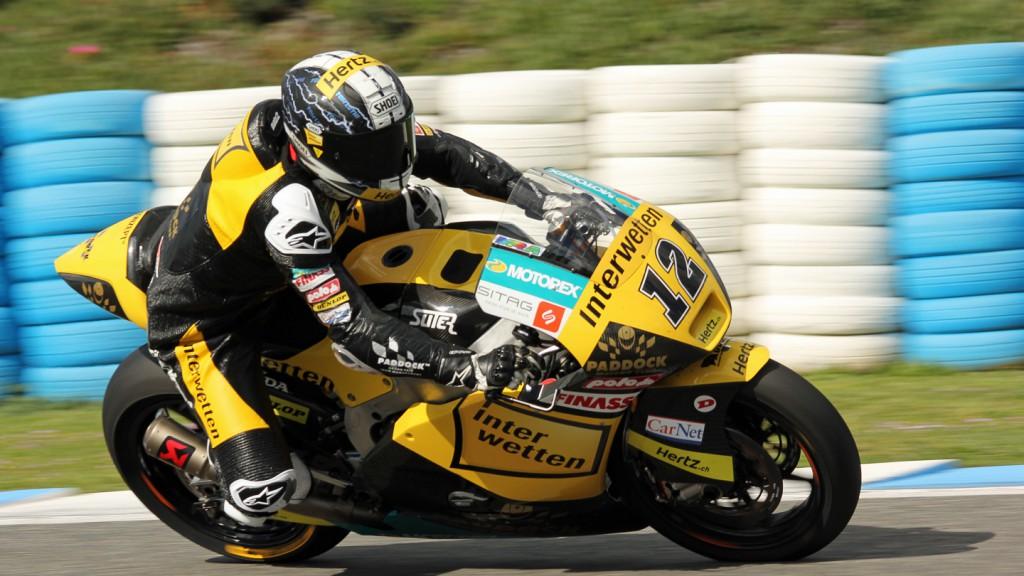 Thomas Luthi, Interwetten Paddock Moto2, Jerez Test © Max Kroiss