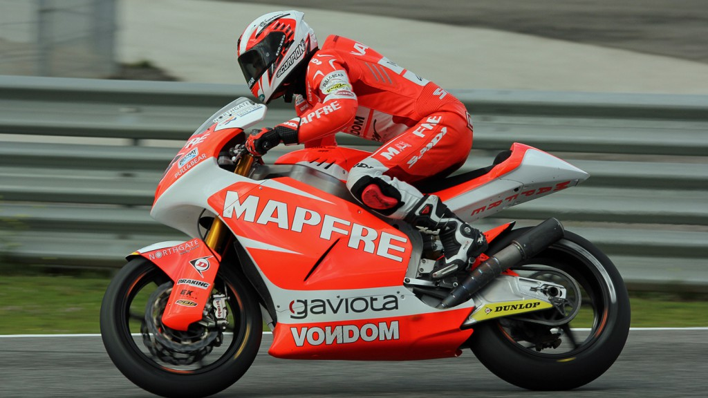 Nico Terol, Mapfre Aspar Team Moto2, Jerez Test © Max Kroiss