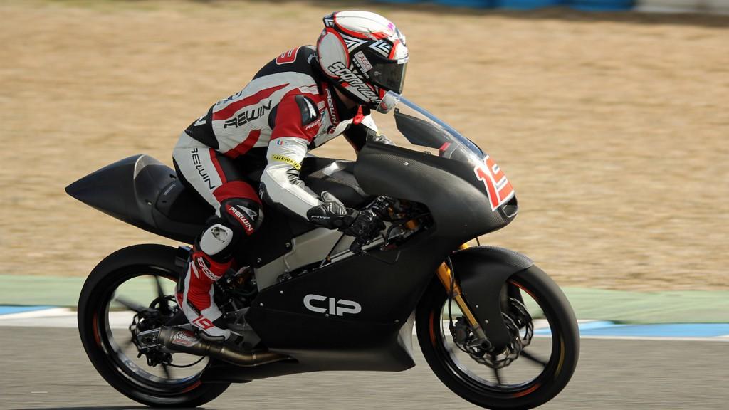 Alessandro Tonucci, CIP Moto3, Jerez Test © Max Kroiss