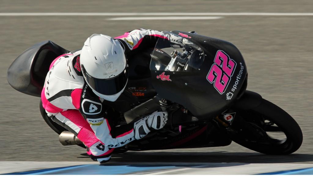 Ana Carrasco, SIC-AJO, Jerez Test © Max Kroiss