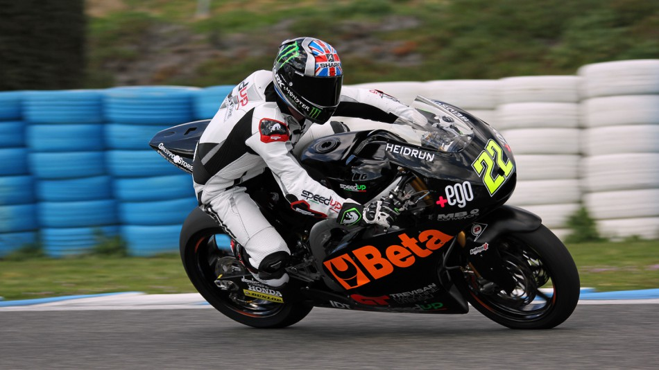 motogp.com · Sam Lowes, Speed Up, Jerez Test © Max Kroiss