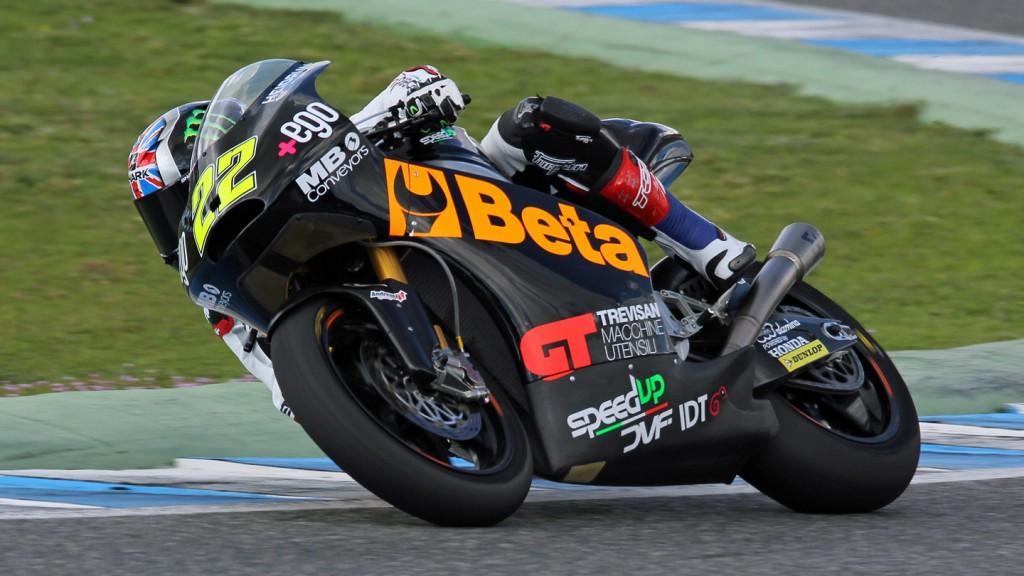 Sam Lowes, Speed Up, Jerez Test © Max Kroiss